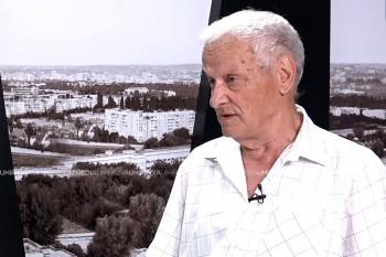Vladimir Beșleagă în studioul UNIMEDIA
