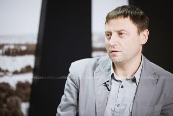 Ion Tăbârță în studioul UNIMEDIA