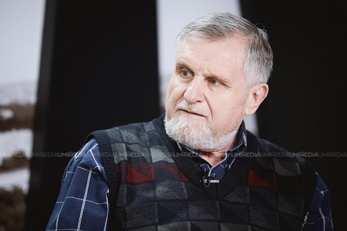 Nicolae Răileanu în studioul UNIMEDIA