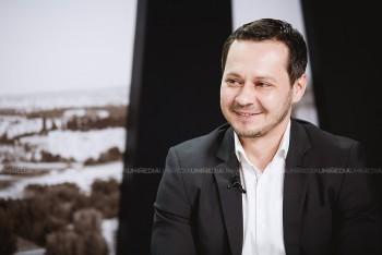 Ruslan Codreanu în studioul UNIMEDIA