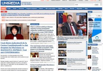 UNIMEDIA este cel mai vizitat site de știri din R. Moldova, potrivit metrica.md