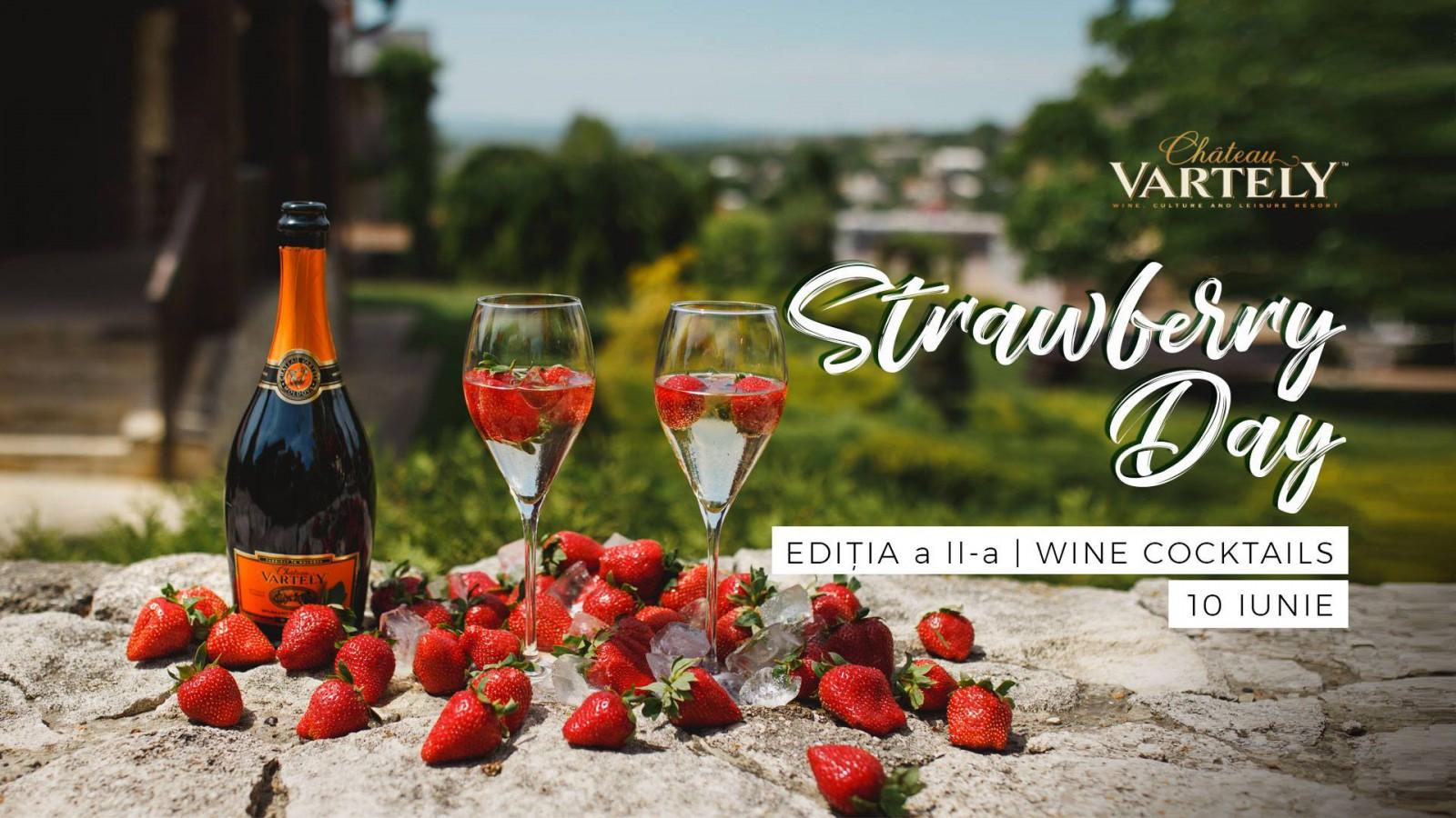 5 motive pentru a-ți petrece duminica la Strawberry Day la Chateau Vartely