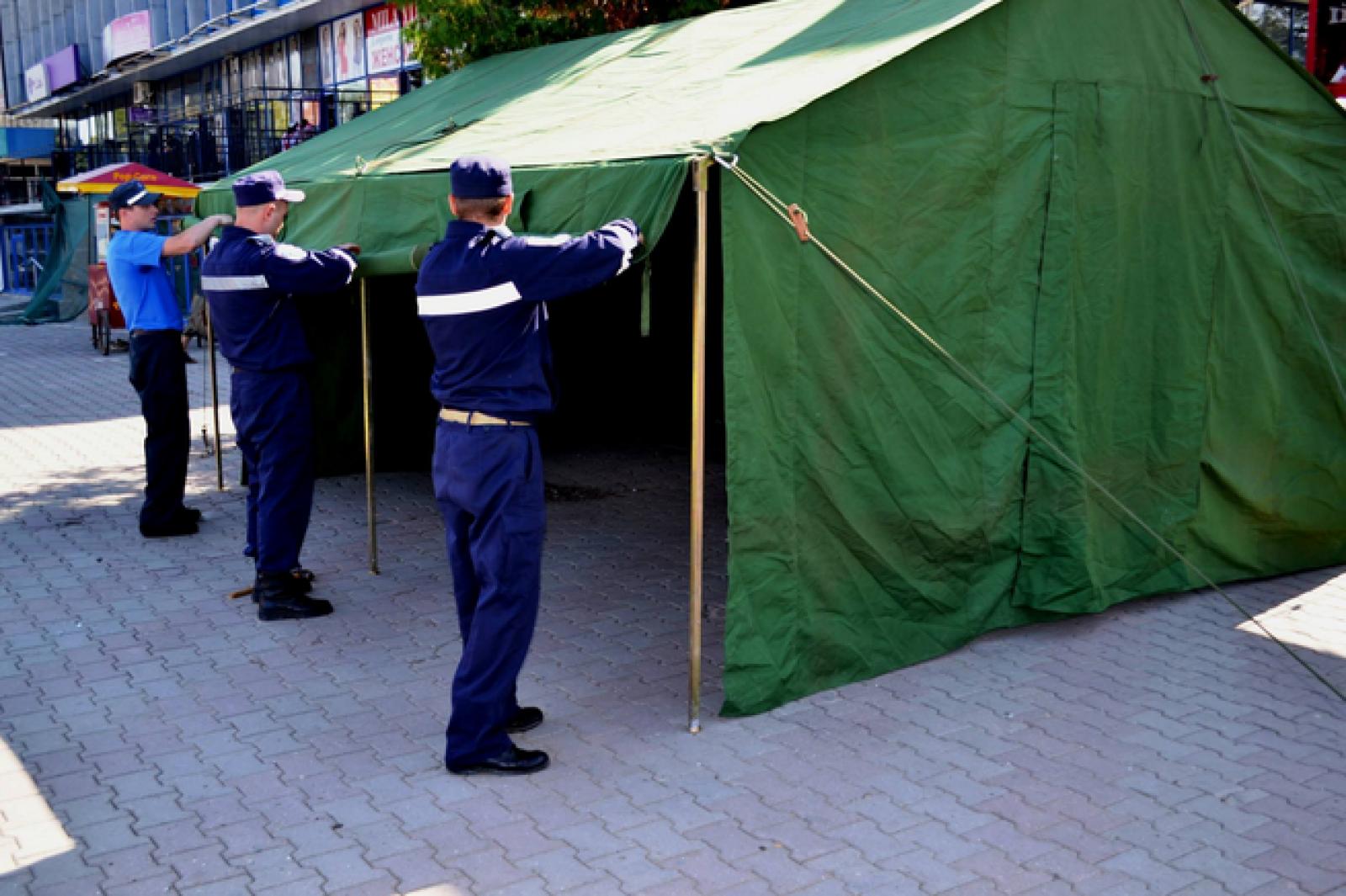 În capitală, cât și în raioanele Bălți, Cahul și Comrat, vor fi instalate corturi anticaniculă. Locurile unde vă puteți adresa