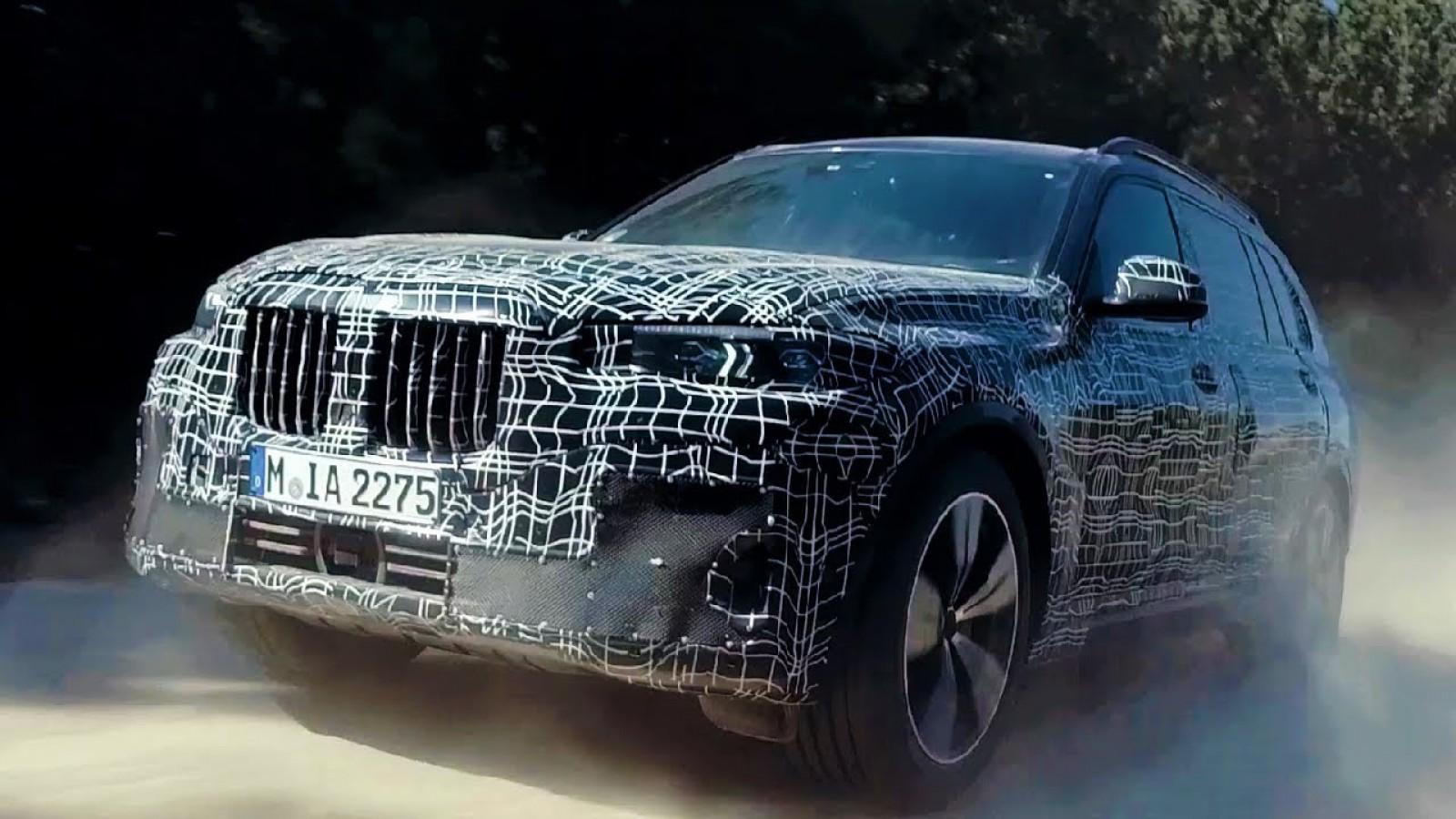 Încercările la care a fost supus noul BMW X7. Primele imagini video oficiale din cadrul testelor