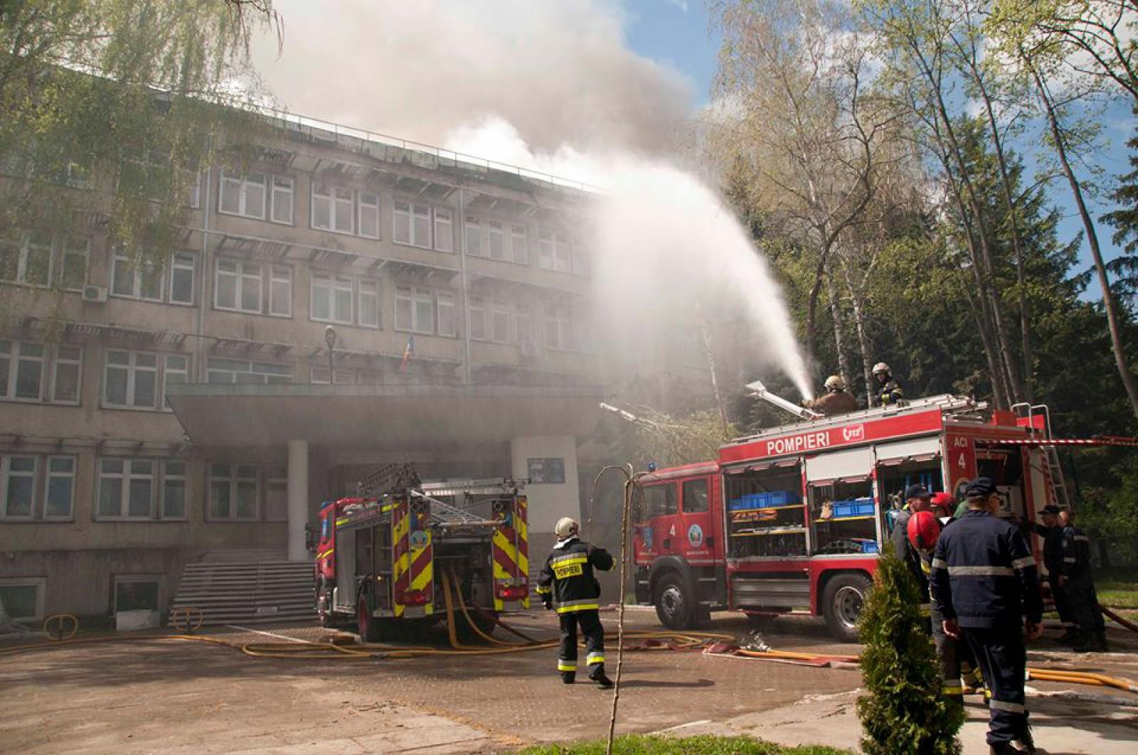 A fost stabilită cea mai probabilă cauză de producere a incendiului la Institutul de Zoologie din capitală