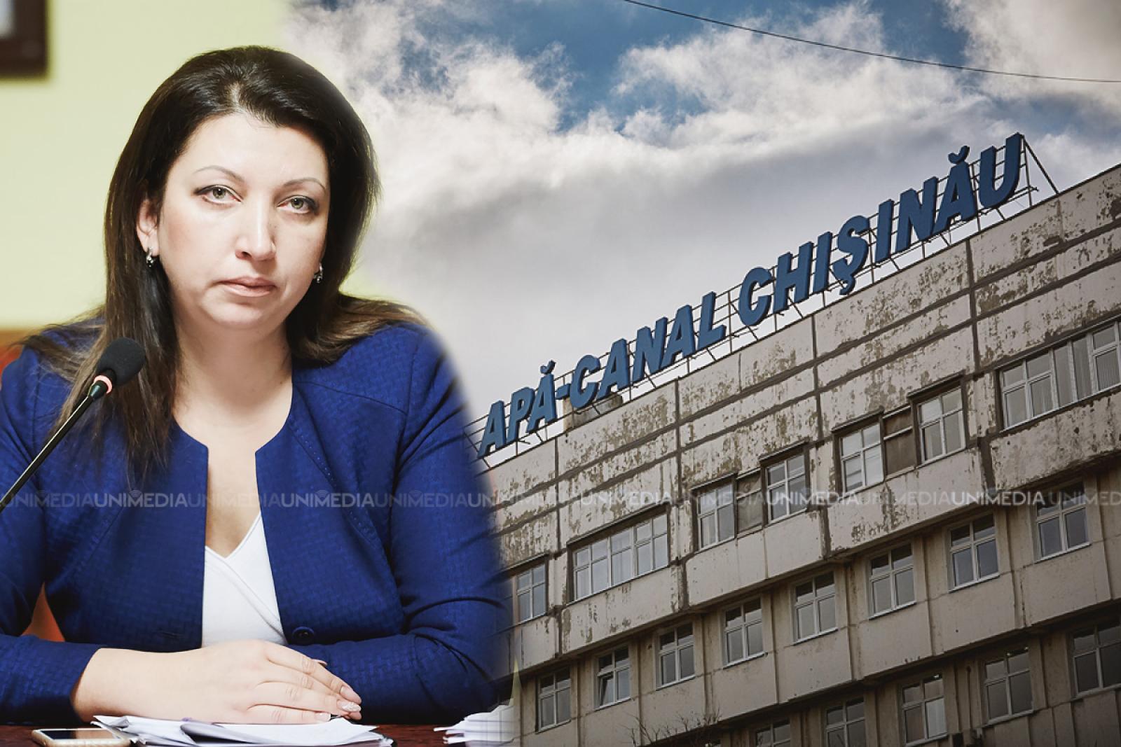 """A pus punct: Veronica Herța a plecat de la Apă Canal Chișinău; """"Demnitatea mea este mai presus"""""""