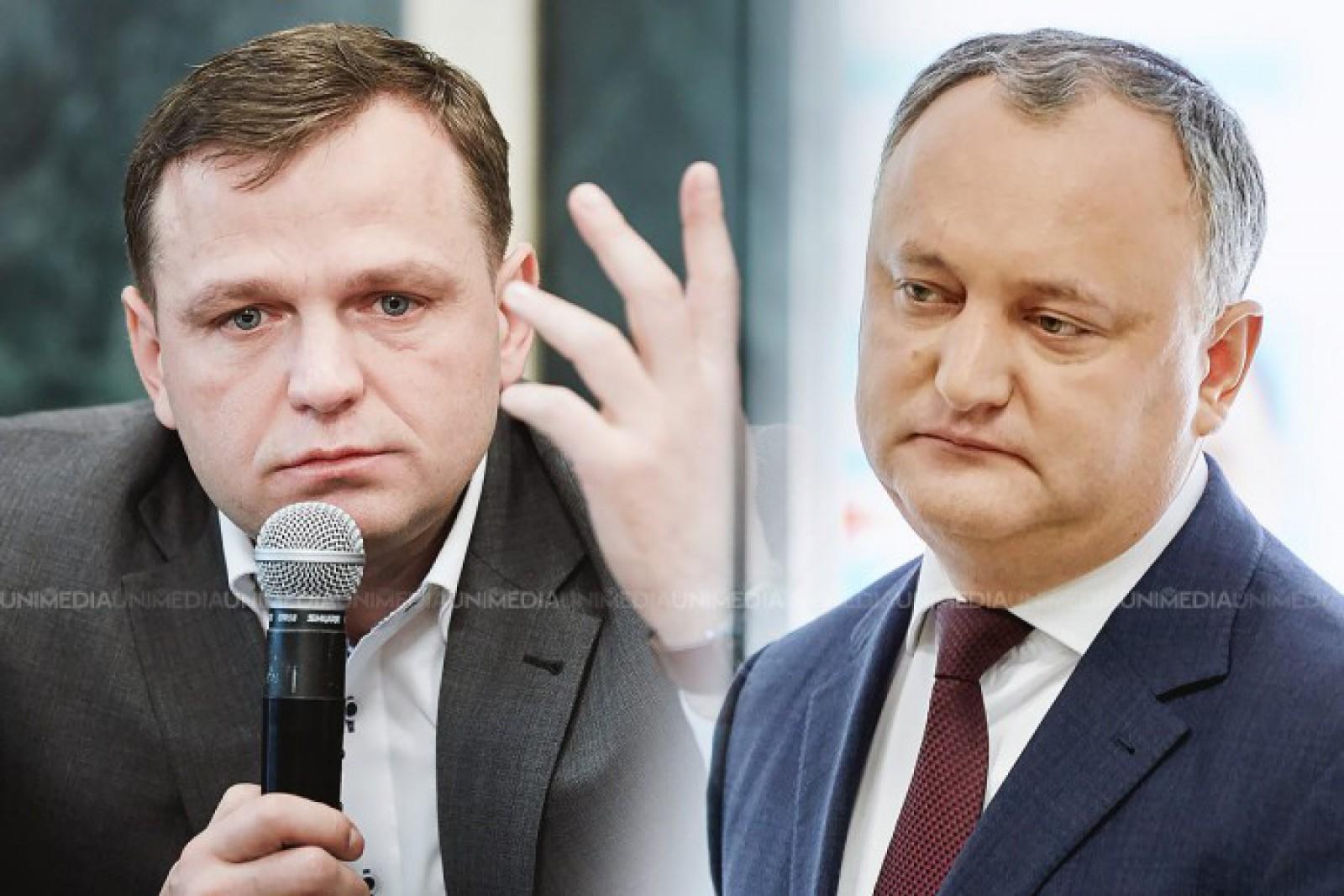 """Andrei Năstase, despre """"faptele previzibile"""" ale lui Dodon: """"În pofida propriilor sale critici de acum câteva zile, a promulgat Amnistia Fiscală"""""""