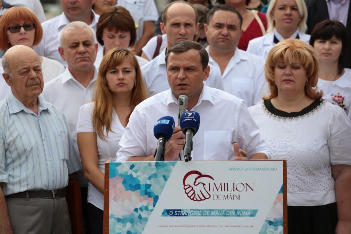 """Andrei Năstase: """"De astăzi echipele PDA vor împânzi toată țara. Suntem determinați să aducem adevărul în fiecare casă"""""""