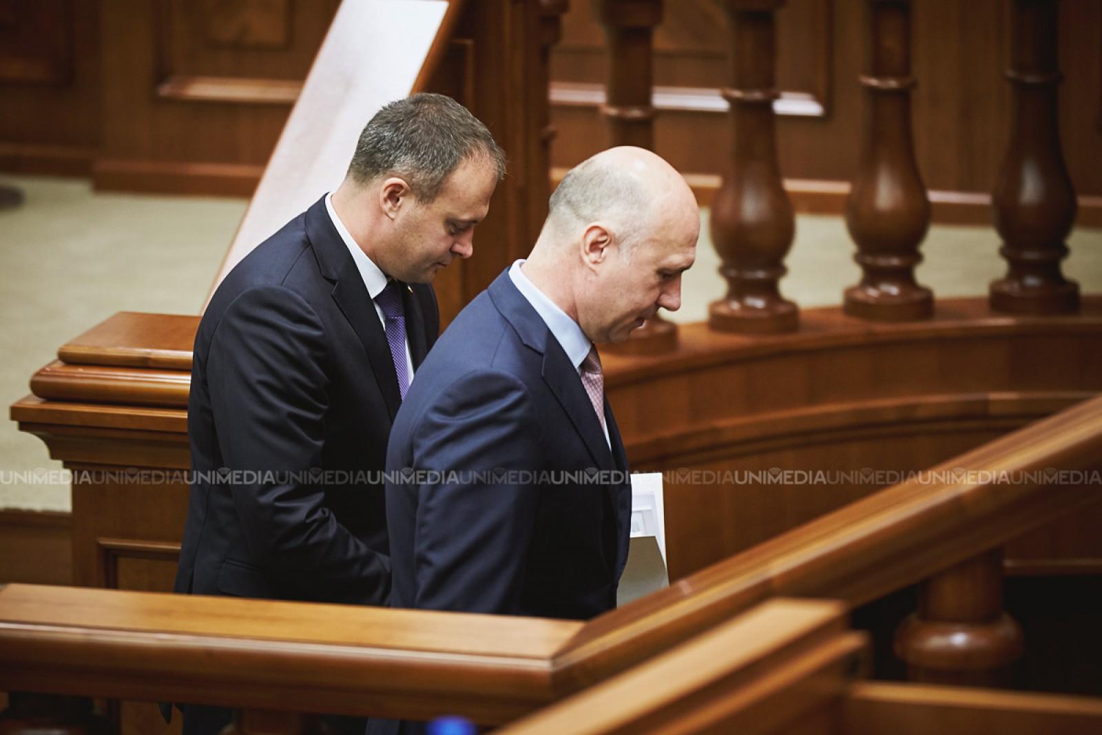 Andrian Candu și Pavel Filip s-au întâlnit cu ambasadorii acreditați în Moldova: S-a vorbit despre reforma fiscală