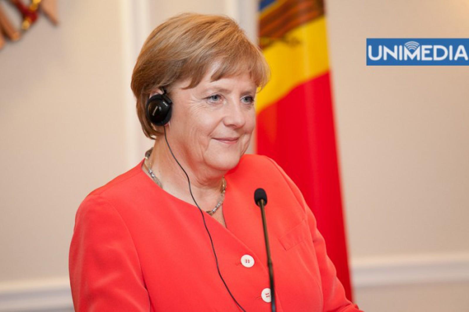 Angela Merkel a fost aleasă cancelar al Germaniei pentru a patra oară