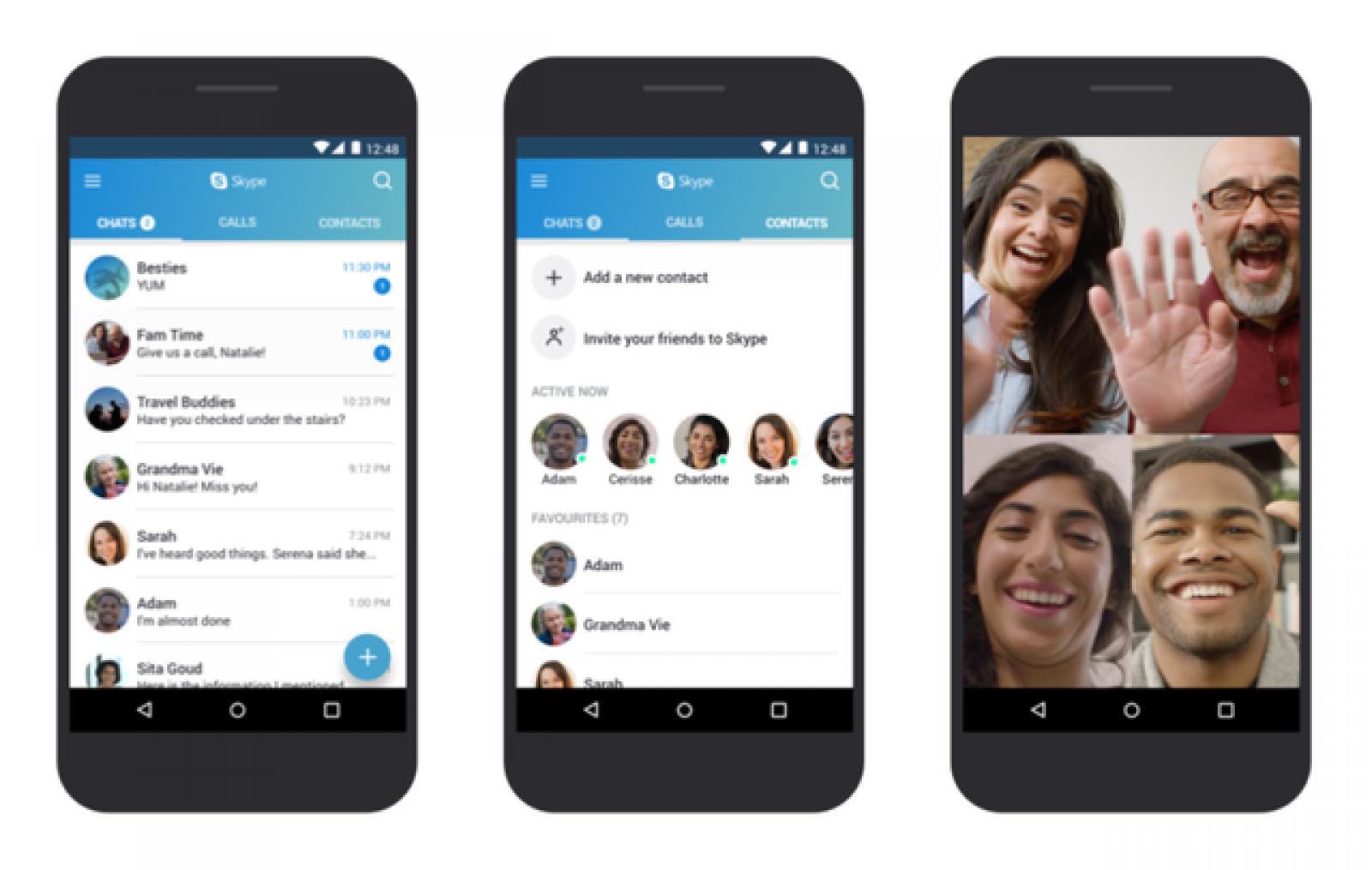 Aplicaţia Skype va avea şi o versiune de Android optimizată pentru telefoane low-end