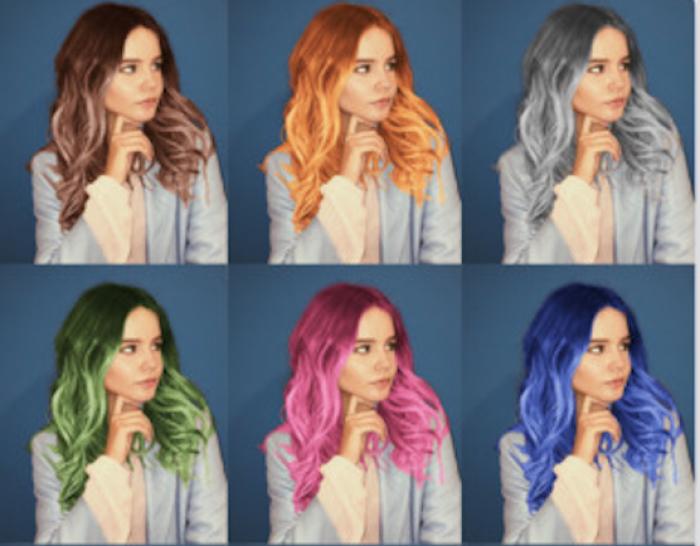 Aplicația Teleport, care schimbă culoarea părului, în top cinci cele mai descărcate aplicații din AppStore