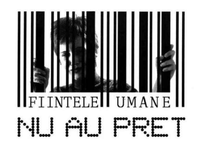 Astăzi marcăm Ziua Europeană pentru combaterea traficului de ființe umane