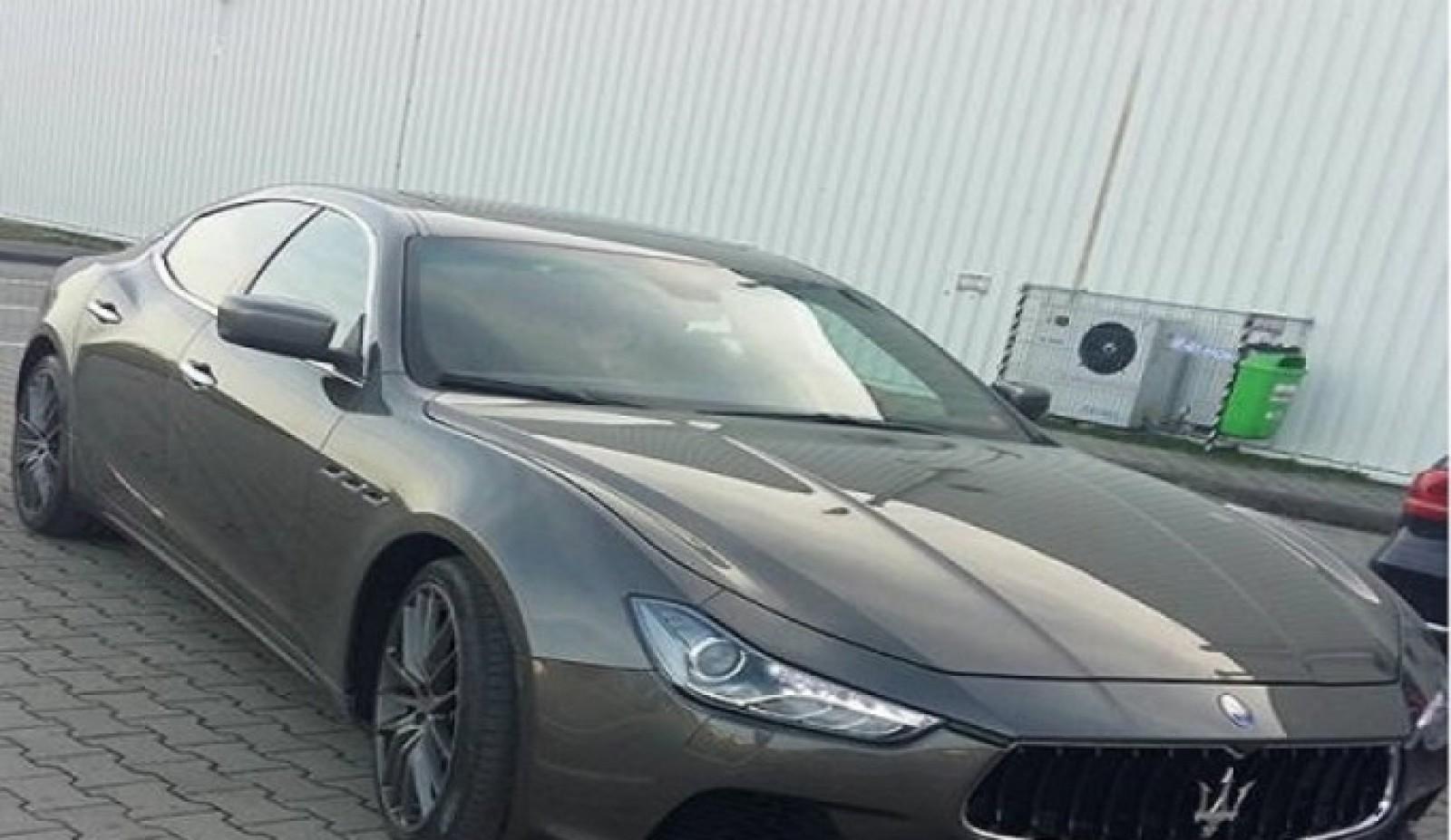 Au furat un Maserati de 80 000 euro: Vezi cum a fost găsit 5 zile mai târziu