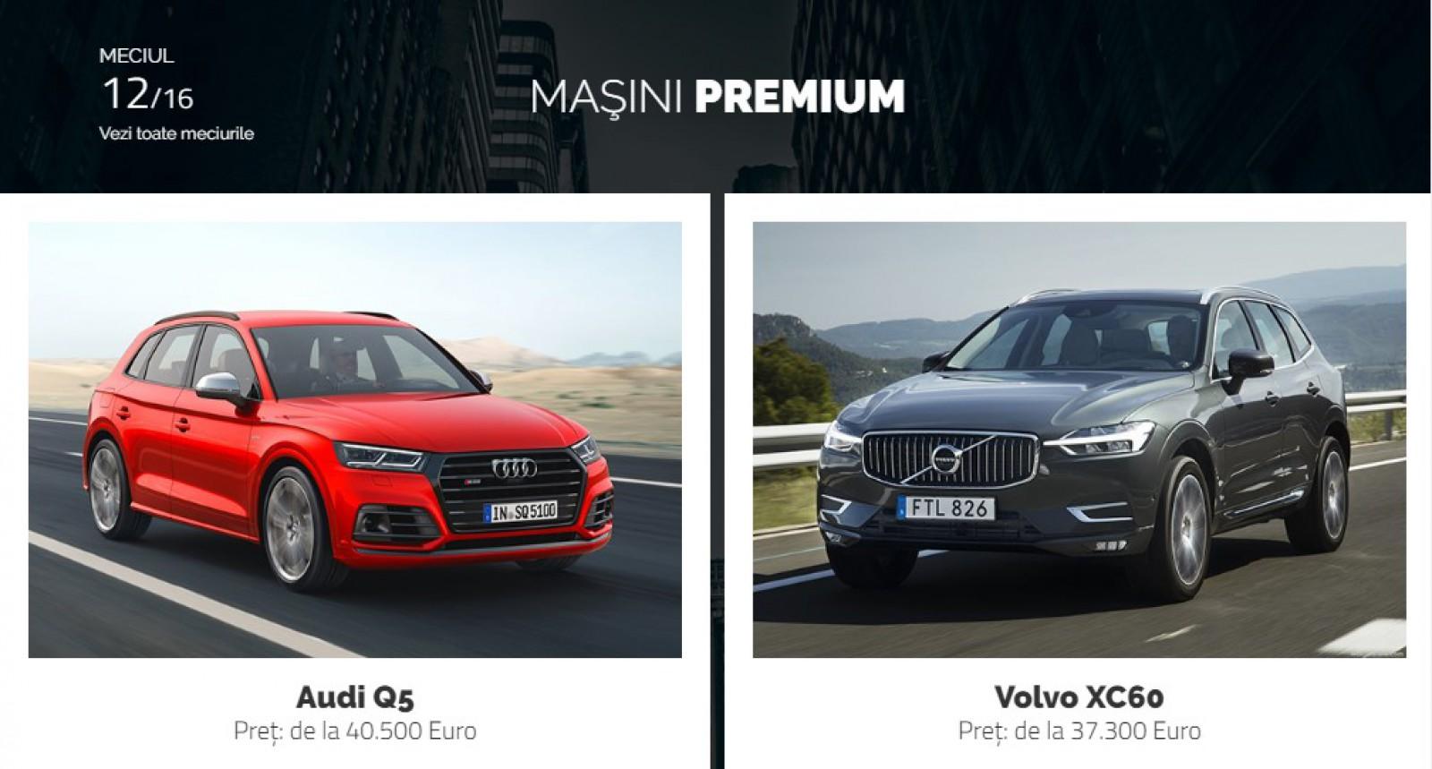 AUTOVOT MOLDOVA 2018! Duelul din runda II: Audi Q5 vs Volvo XC60!
