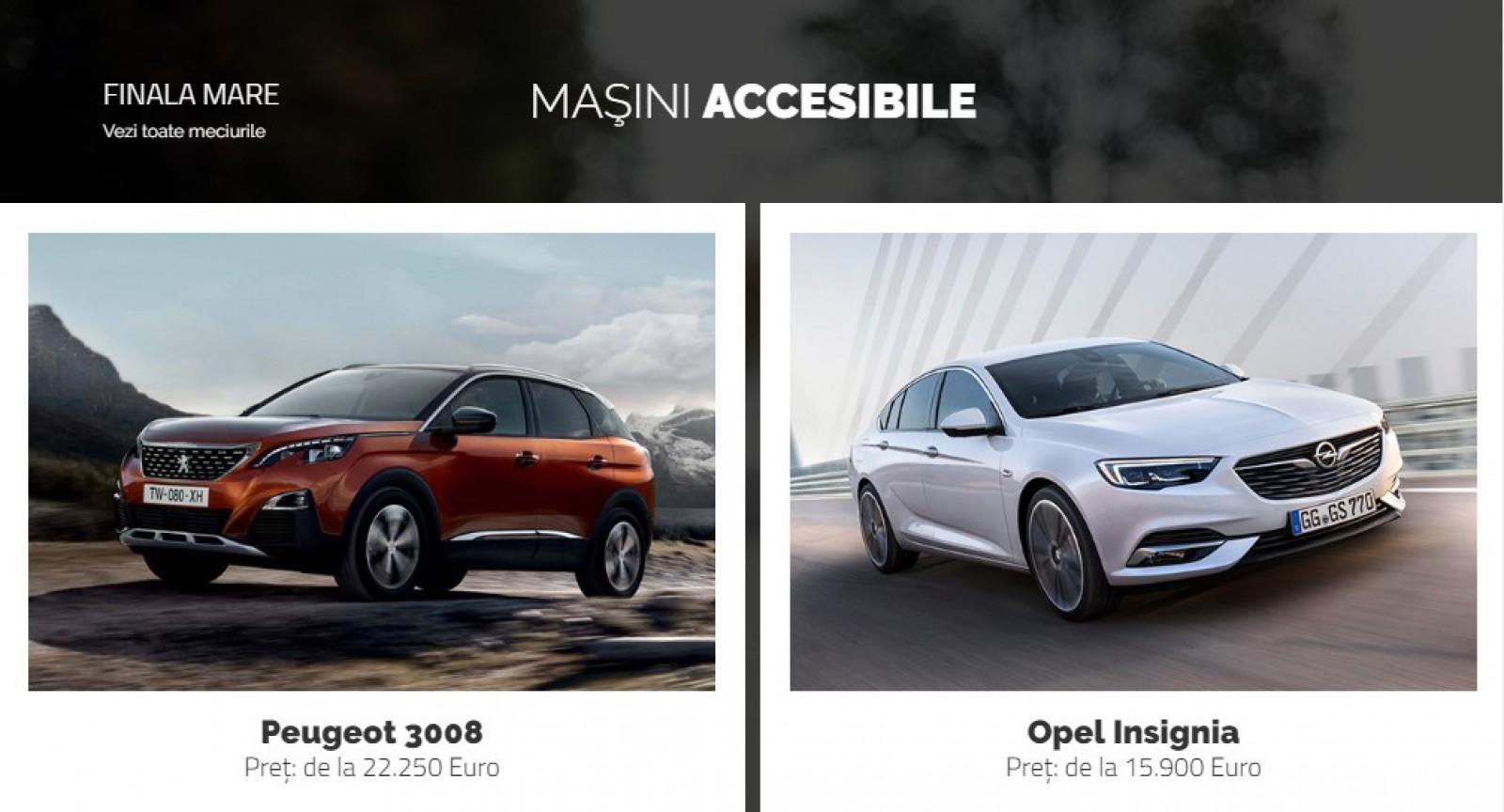 AUTOVOT MOLDOVA 2018! Marea finală din categoria Maşini Accesibile: Peugeot 3008 vs Opel Insignia!