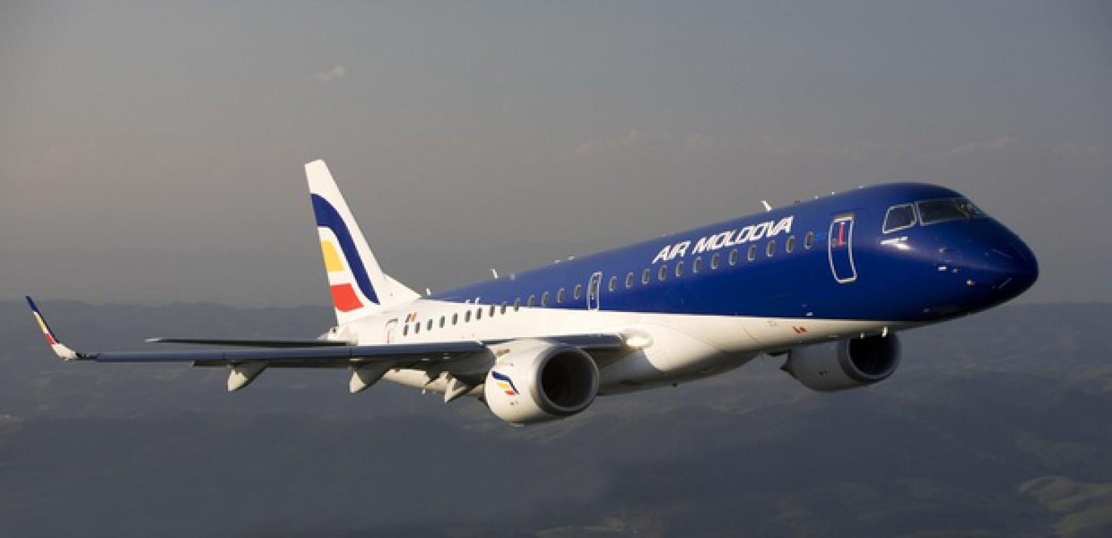 Un avion de la Air Moldova, nevoit să facă cale întoarsă. În timpul zborului spre Italia s-au format fisuri pe parbriz