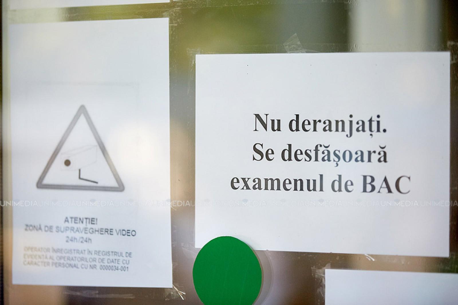 BAC 2018: Peste 15 mii de elevi din toată țara susțin astăzi examenul la limba de instruire