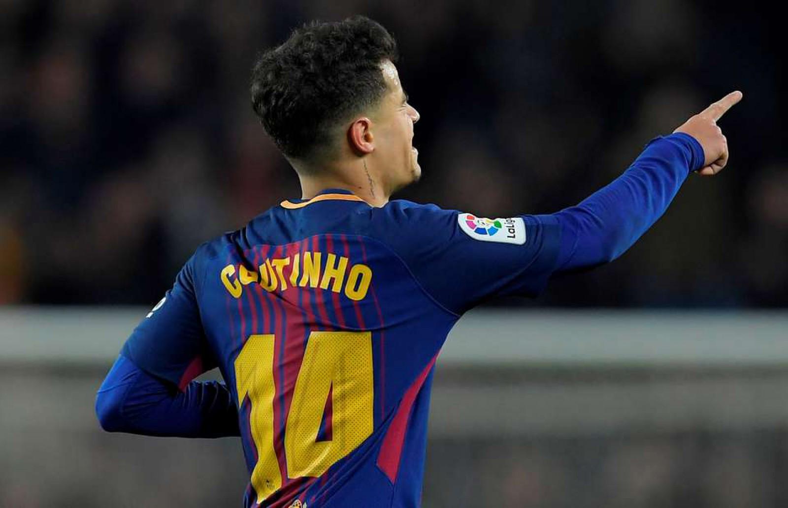 Barcelona a făcut spectacol în partida de pe Camp Nou cu Girona. Philippe Coutinho a marcat primul gol pentru catalani în La Liga