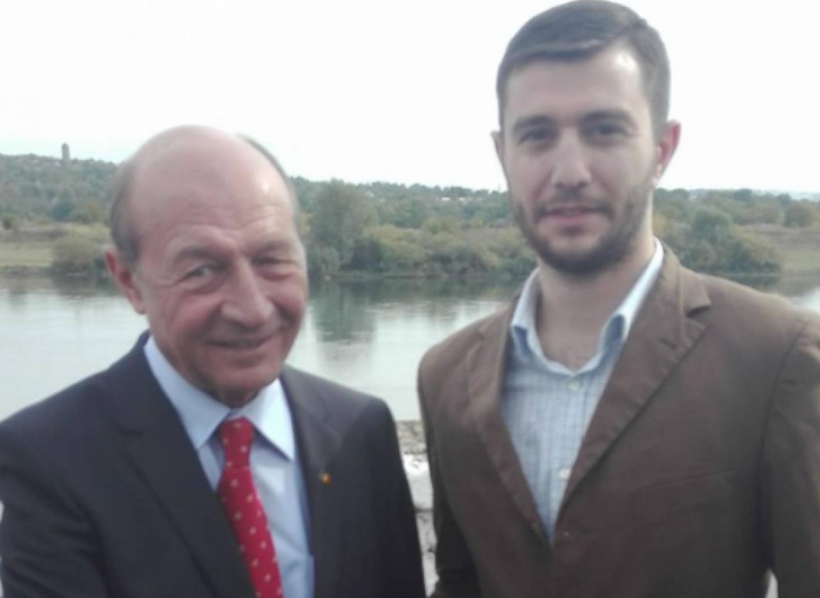 Băsescu a anunțat cine e candidatul PUN la alegerile locale din Bălți