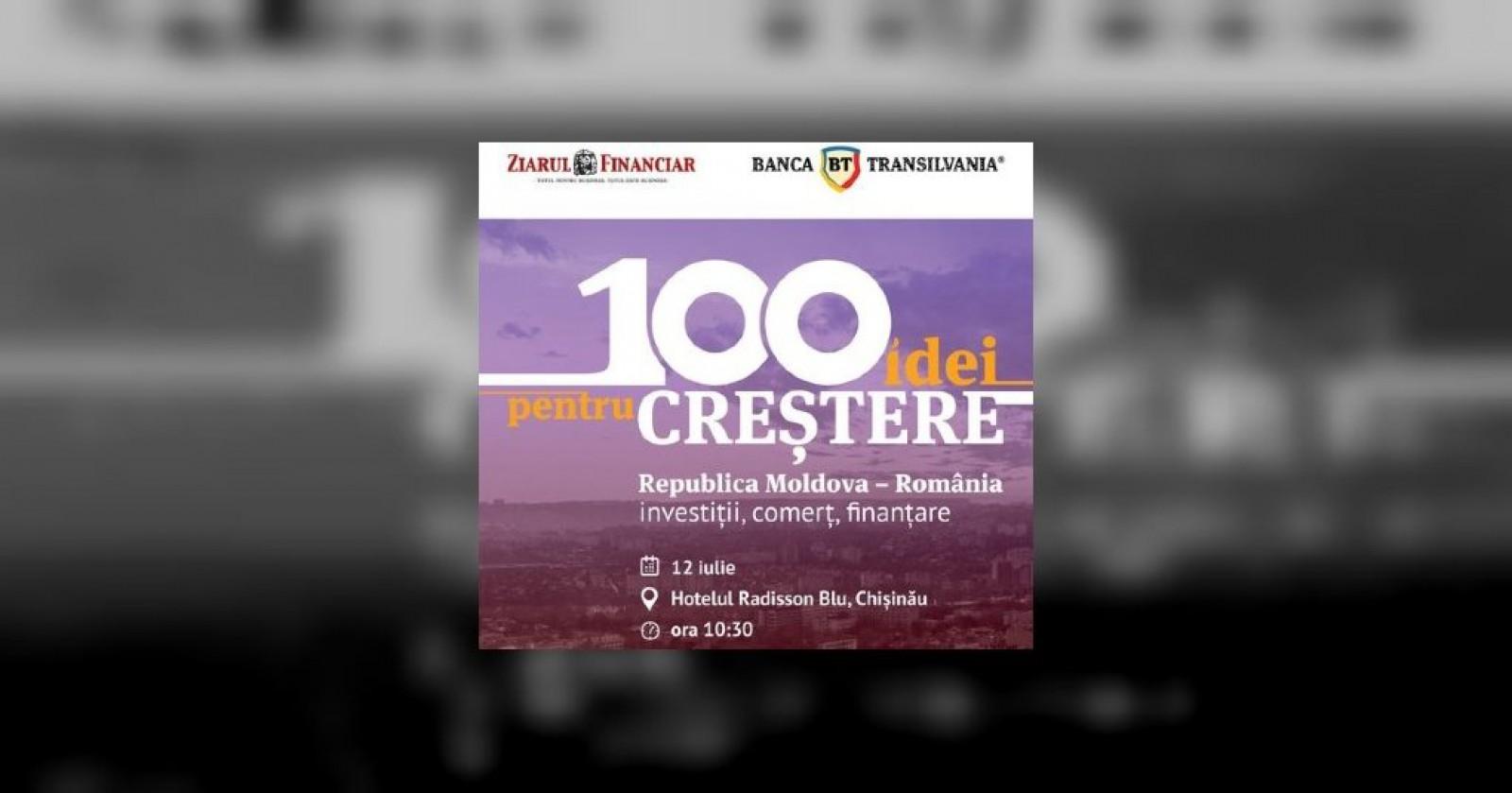 """Cea mai mare companie cu capital moldovenesc, Dita Estfarm, prezentă la conferința """"Republica Moldova - România. Investiții, comerț, finanțare"""""""