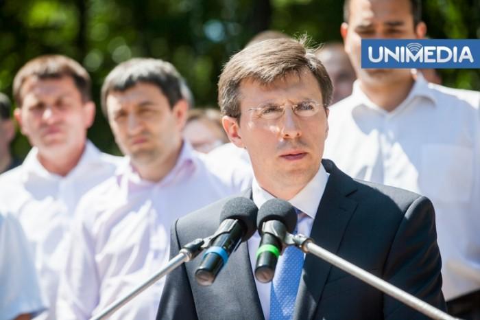 (doc) Chirtoacă: Chișinăul a intrat pe drumul cu sens unic care duce spre UE