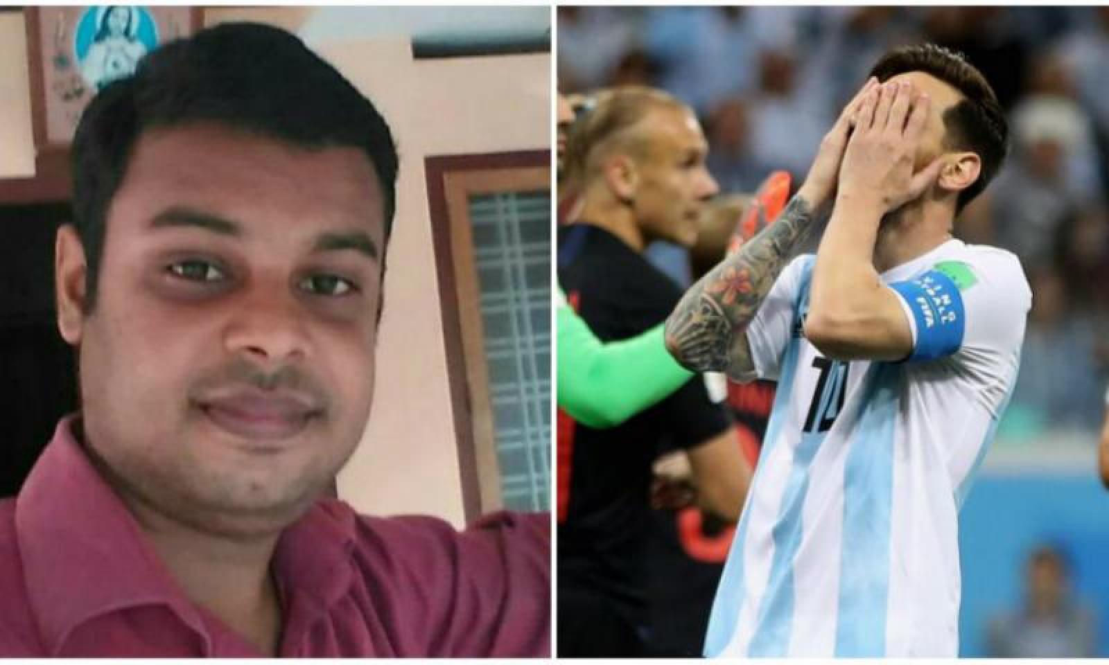 CM 2018. Un suporter s-a sinucis după ce Argentina a fost învinsă de Croația