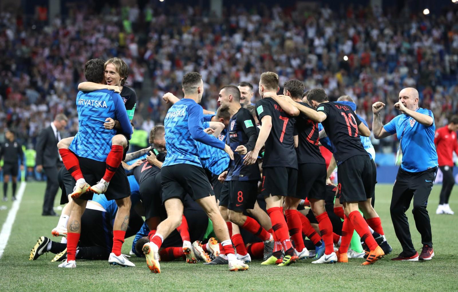 Croația a învins-o dramatic pe Danemarca în urma loviturilor de departajare. Balcanicii vor juca în sferturile Cupei Mondiale cu Rusia