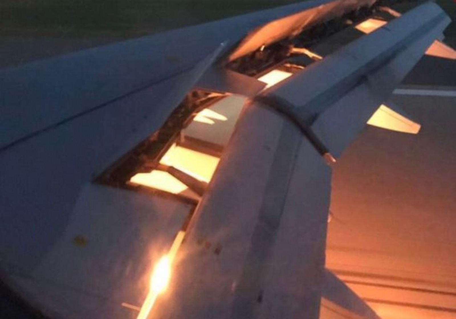 Cupa Mondială 2018: Unul dintre motoarele avionului care transporta echipa Arabiei Saudite la meciul cu Uruguay a luat foc