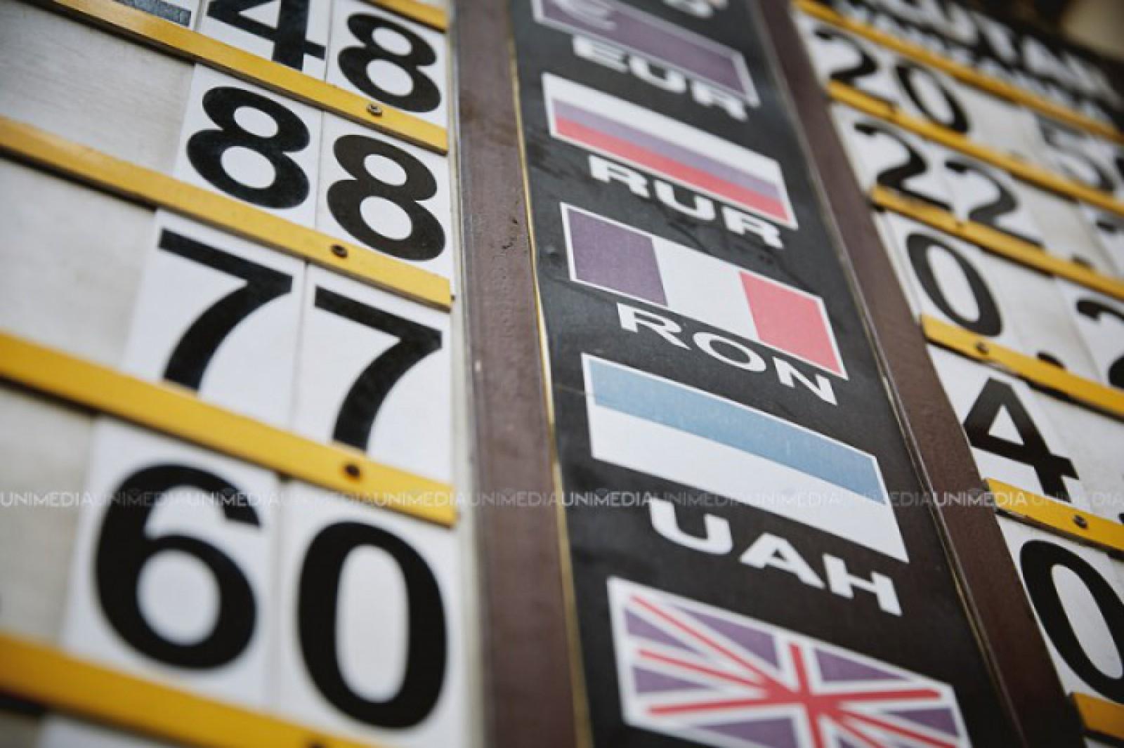 Curs valutar: Leul în raport cu principalele valute de referință
