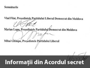 Detalii din Acordul secret al AIE