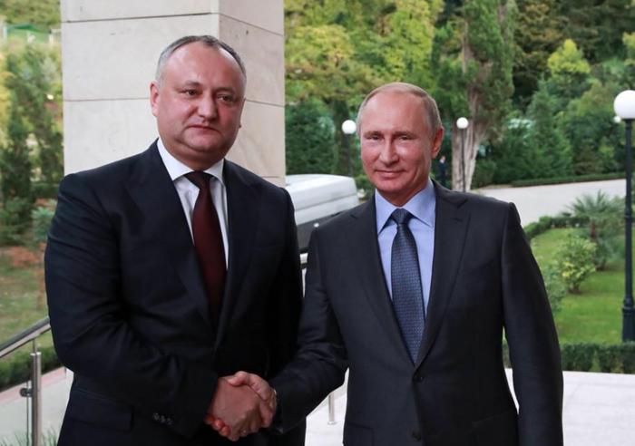 Deutsche Welle: Igor Dodon ar fi ajuns subiect de glume în presa rusă după ce i-a mulțumit lui Vladimir Putin pentru exportul produselor moldovenești pe piața rusă