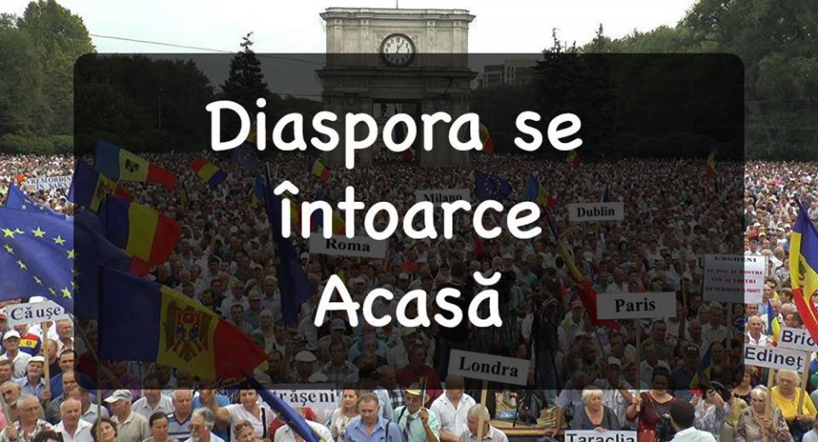 """Diaspora se întoarce acasă: """"Mai mult ca niciodată Moldova are nevoie de noi!"""""""