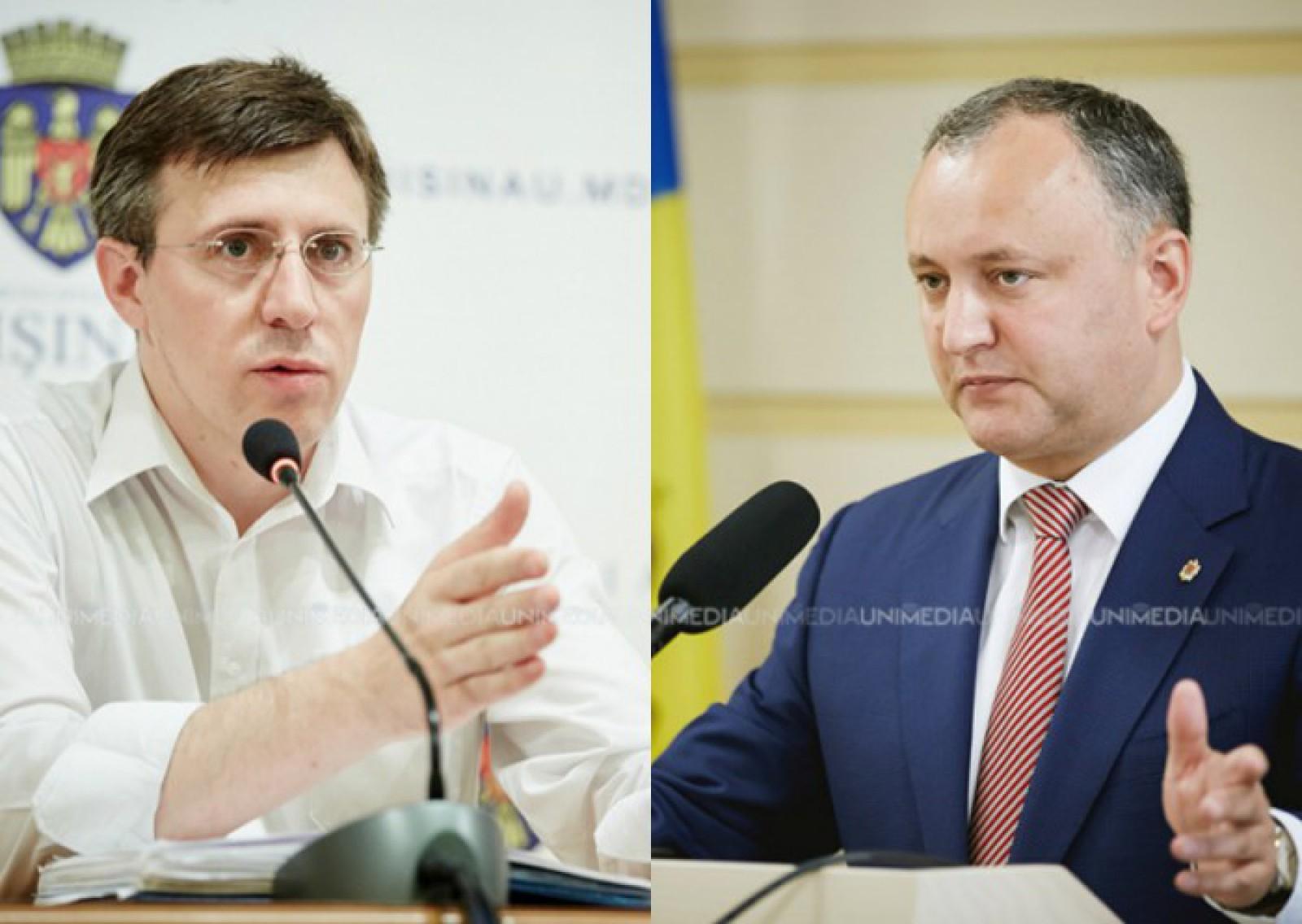"""Dorin Chirtoacă: """"Pe cine ați votat, moldoveni?"""". Motivul pentru care fostul edil al capitalei îl consideră pe Dodon complice oficial la furtul miliardului"""