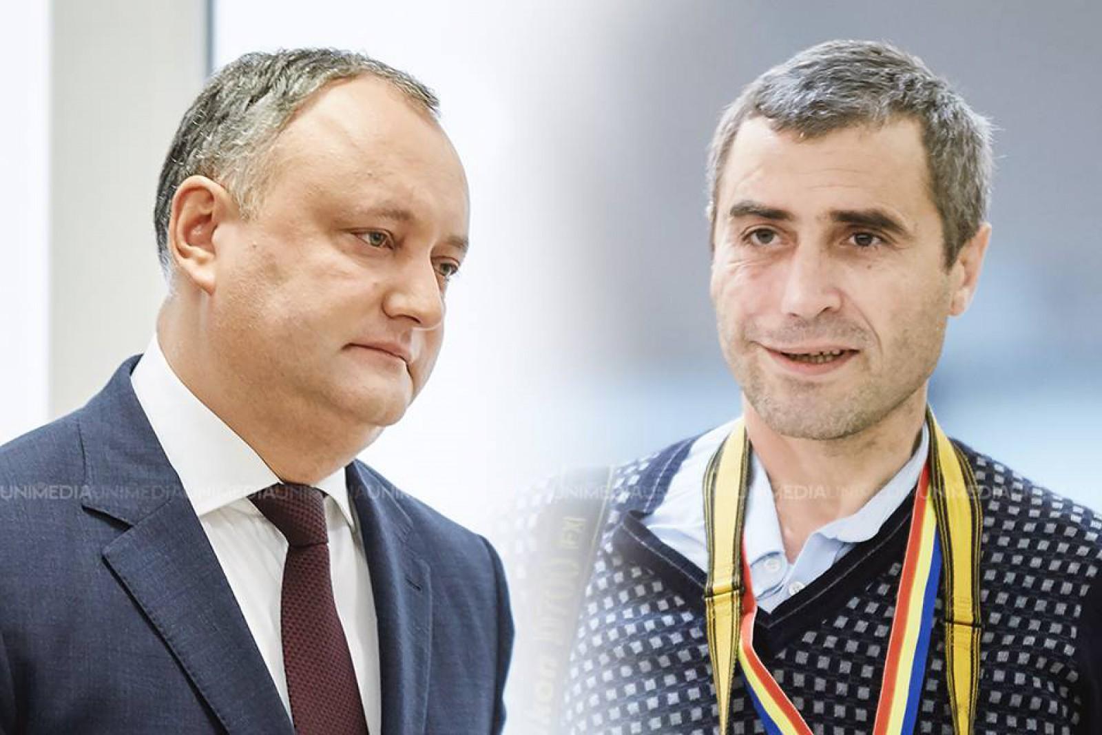 Dosarul Grigoriță vs. Dodon: Prima instanță a respins cererea de chemare în judecată