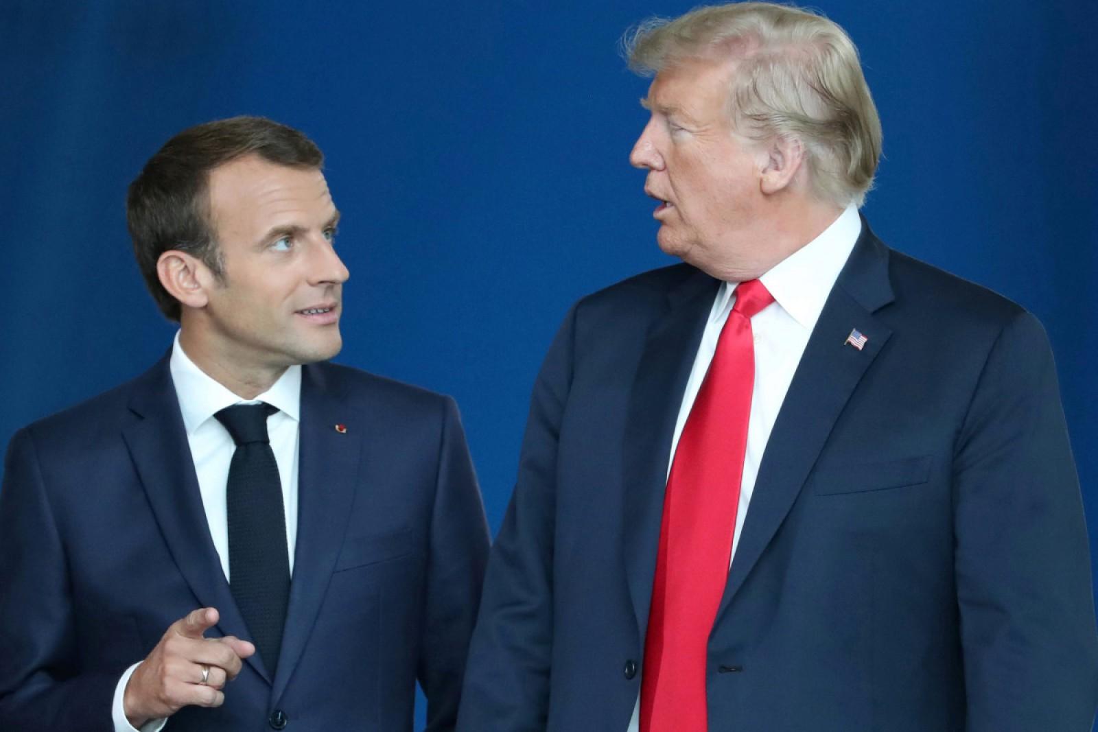Emmanuel Macron i-a telefonat lui Donald Trump pentru a discuta despre situația din Siria și Iran
