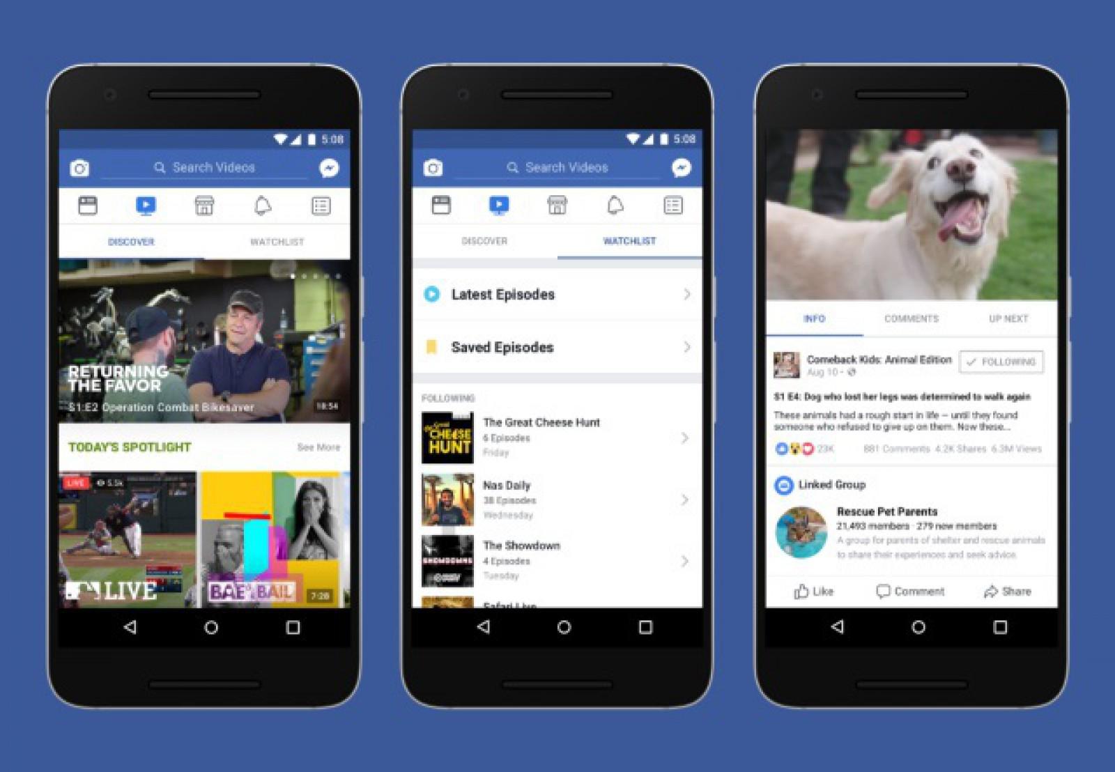 """Facebook inaugurează o nouă secţiune dedicată clipurilor din categoria """"breaking news"""""""
