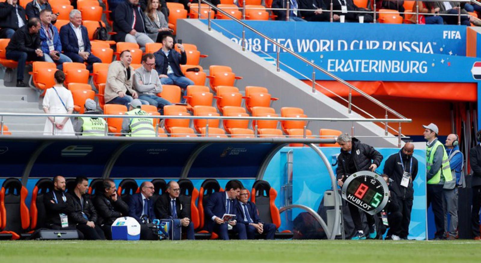 Fani din Rusia, nemulțumiți de existența locurilor goale la Campionatul Mondial