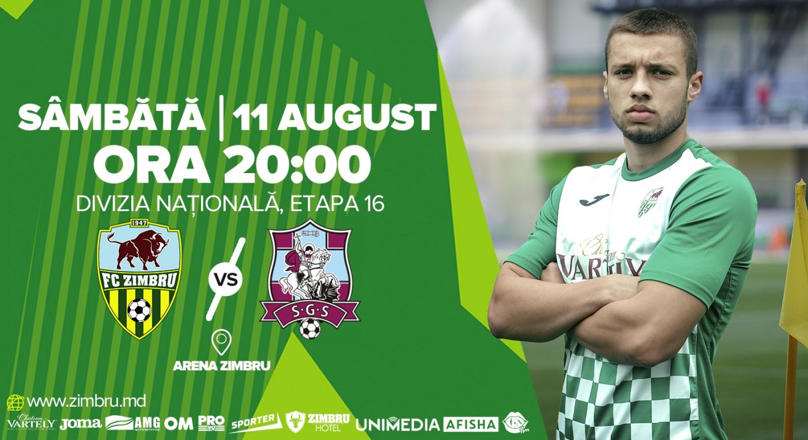 (promo) Sâmbătă se joacă FC Zimbru – FC Sfântul Gheorghe. Galben-verzii învită pe toți la meci