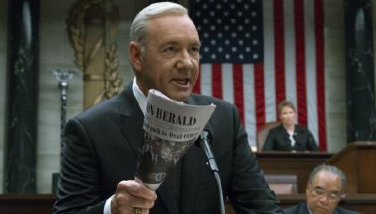 """Filmările la ultimul sezon al """"House of Cards"""" vor fi reluate la începutul lui 2018, fără Kevin Spacey"""