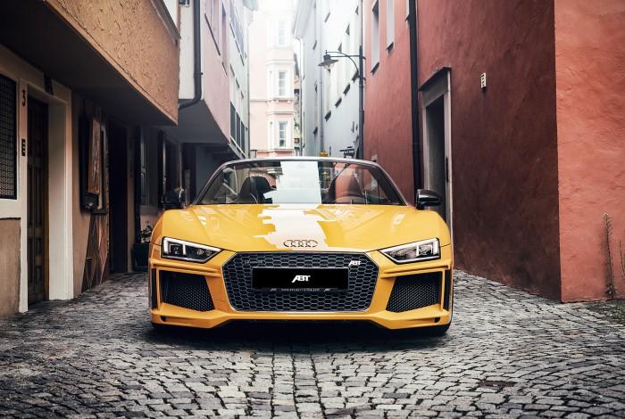 (foto) ABT modifică supercarurile Audi R8 V10 şi R8 V10 Spyder