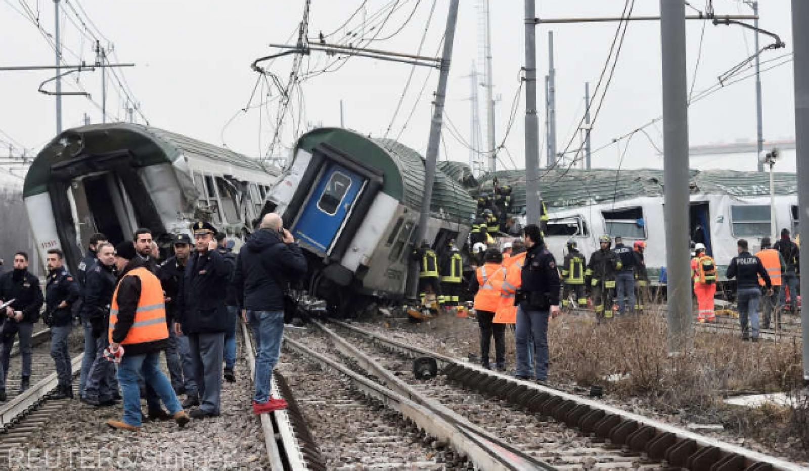 (foto) Accident feroviar în sud-estul Austriei: Cel puțin o persoană a murit