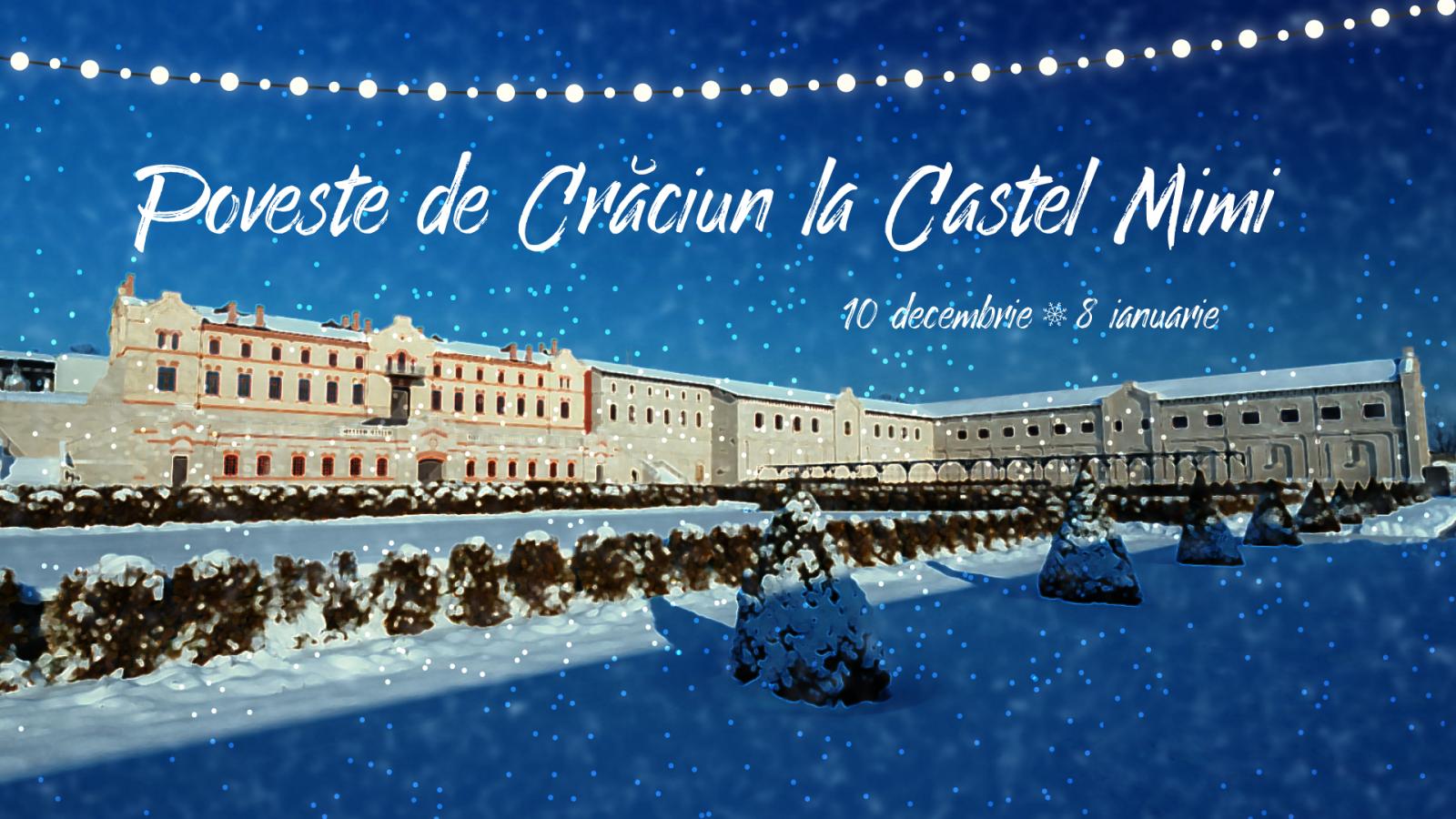 (foto) Castel Mimi în straie de sărbătoare: Cunoscuta vinărie invită la un Târg de Crăciun de poveste