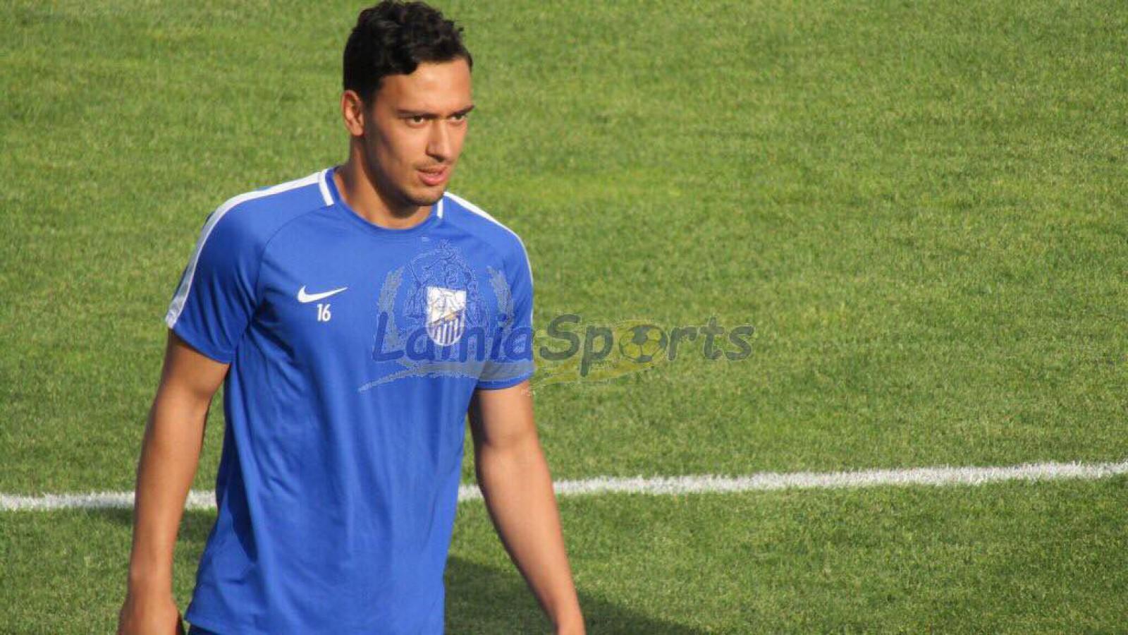 (foto) David Andronic rămâne în Grecia. Mijlocașul moldovean și-a prelungit contractul cu echipa PAS Lamia
