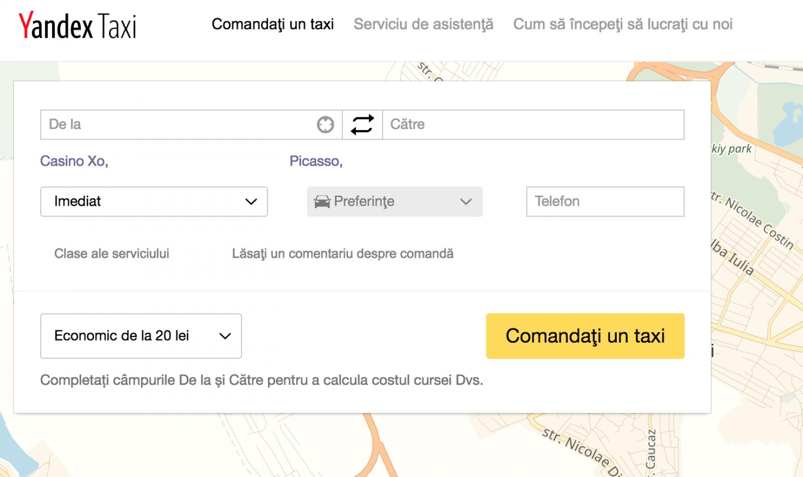 (foto/doc) Istoria cu multe întebări a Yandex.Taxi: Afacerea de milioane de lei aparent nesupravegheată de nimeni
