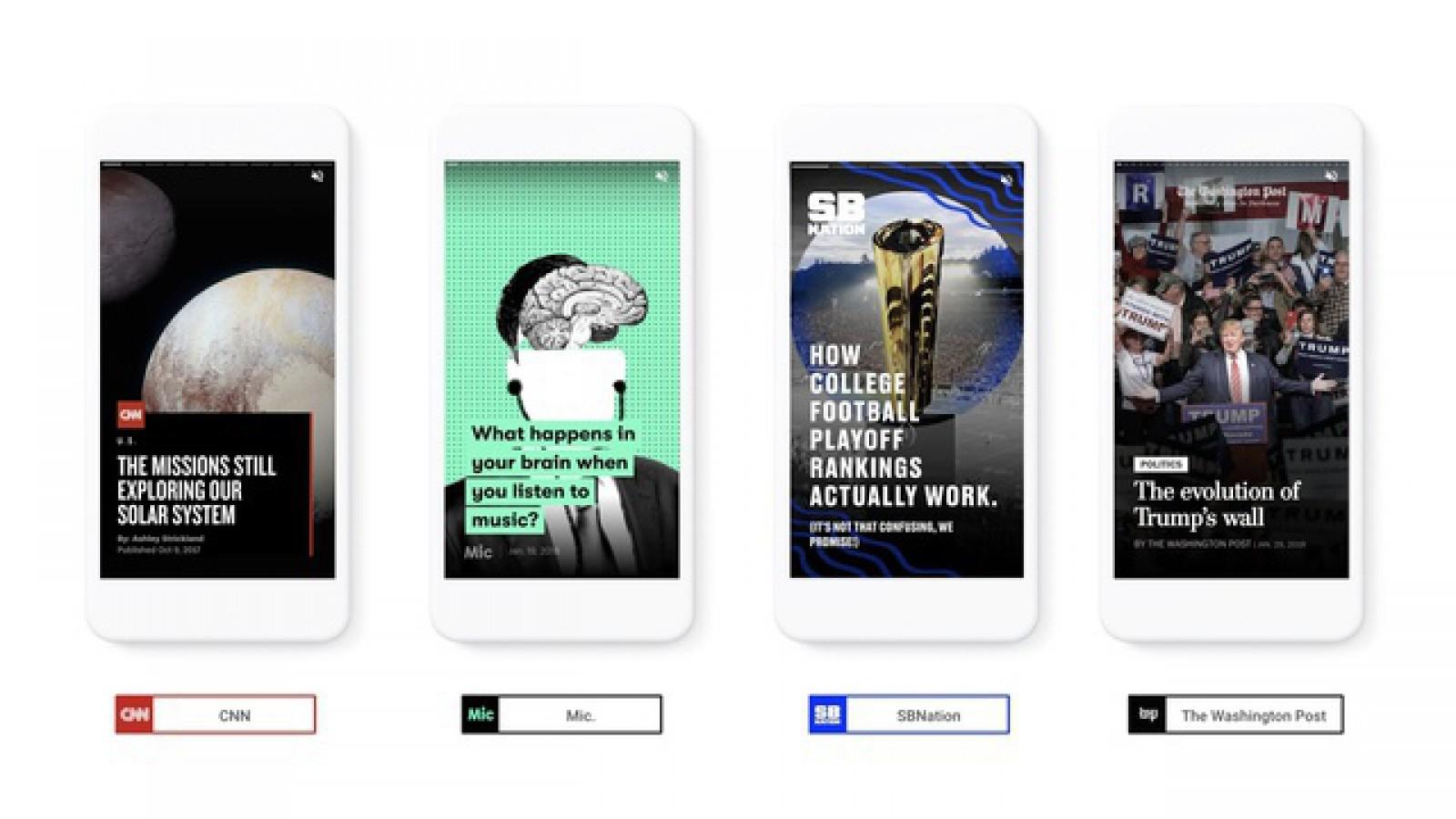 (foto) Google împrumută funcţia Stories de la Snapchat. Integrează conţinutul direct în rezultatele căutărilor