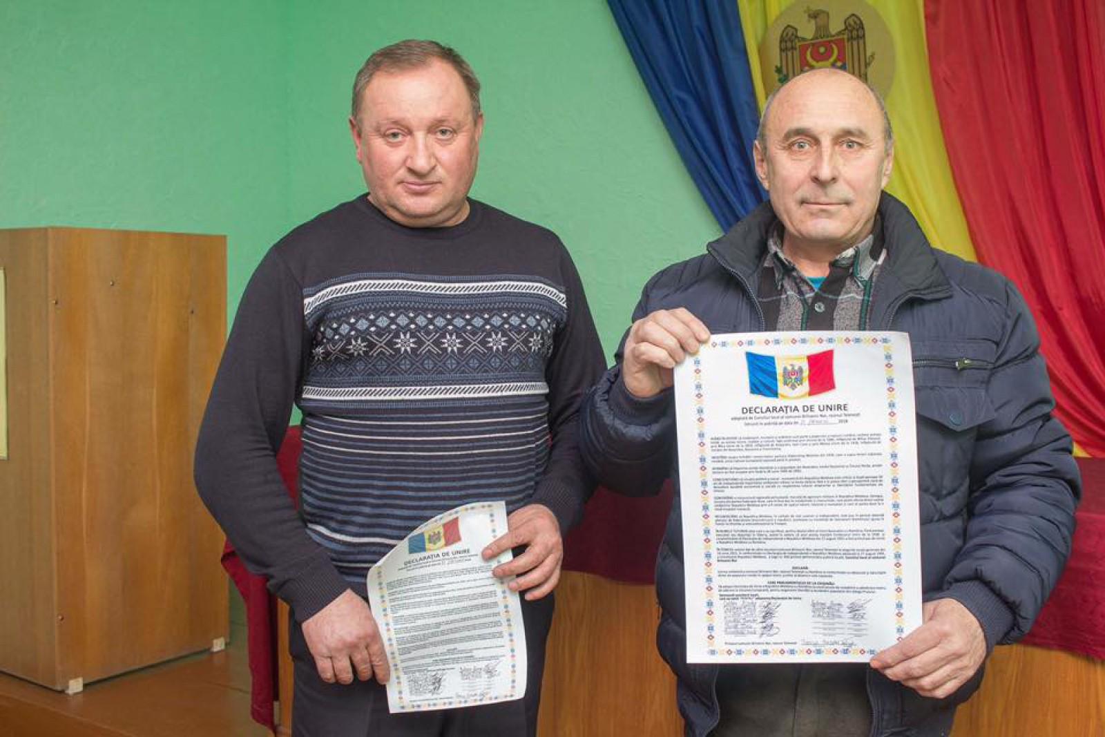 """(foto) Localitatea Brînzenii Noi, Telenești a votat Unirea: """"O zi istorică pentru comuna noastră"""""""