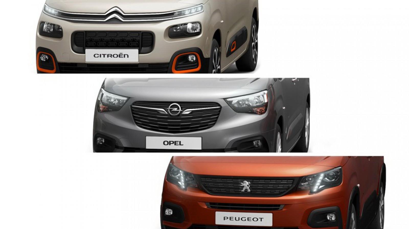 (foto) Noile Citroen Berlingo, Peugeot Partner și Opel Combo se pregătesc pentru debut