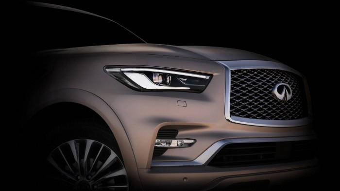(foto) Noua generaţie a celui mai impunător SUV Infiniti va debuta la Salonul Auto de la Dubai