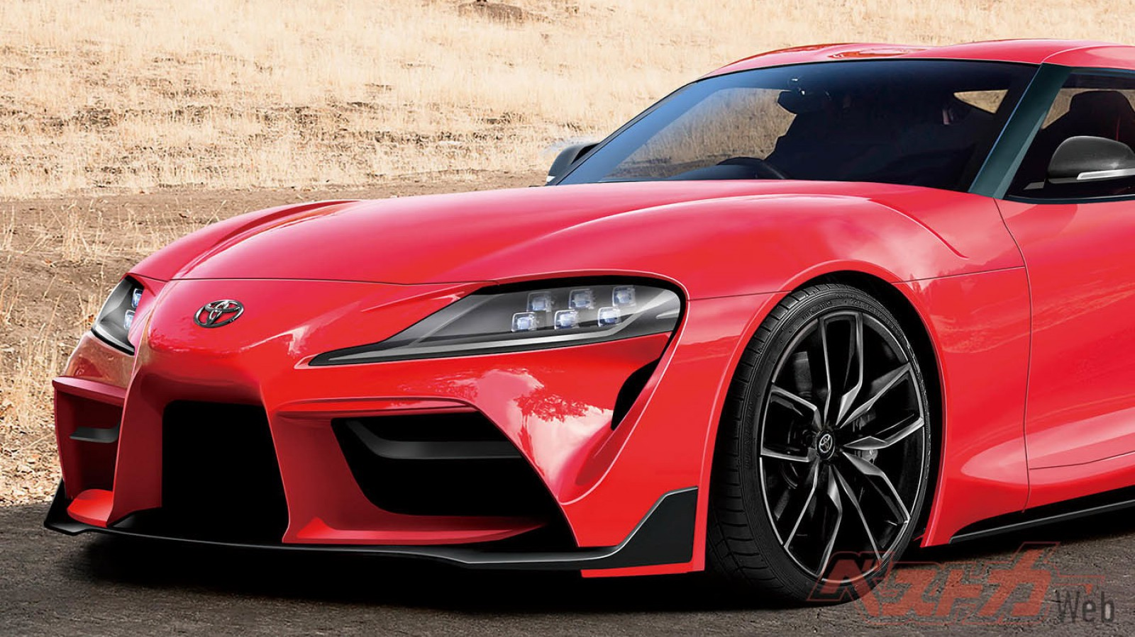 (foto) Noua Toyota Supra vine la Salonul Auto de la Geneva? Primul teaser şi cele mai noi detalii